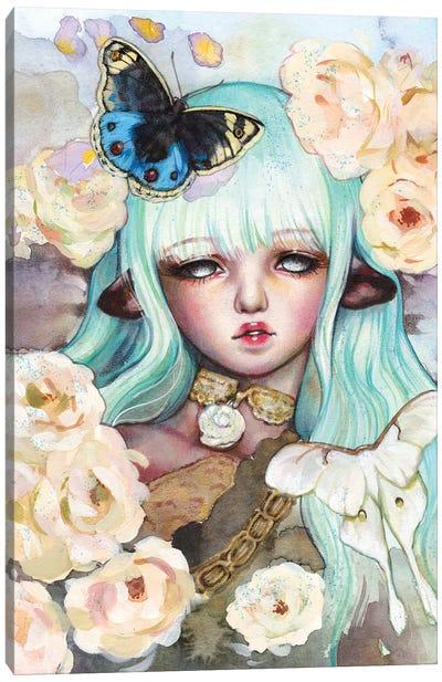 Meillandina Canvas Art Print