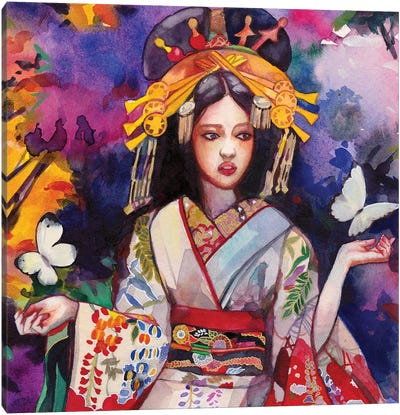Musoka Canvas Art Print