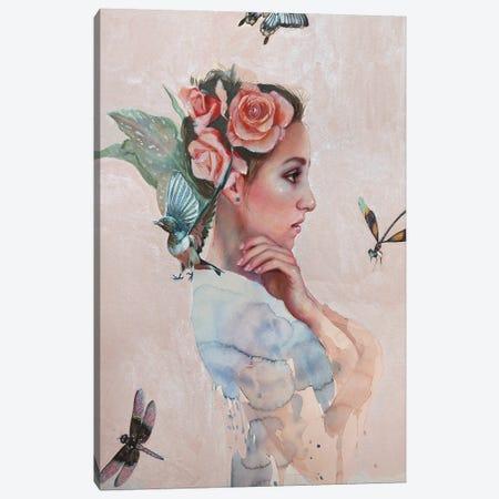 No Life Without You Canvas Print #LIO38} by Lioba Brückner Canvas Artwork