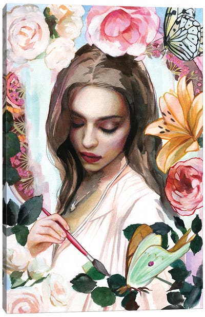 Paint Your World Canvas Art Print