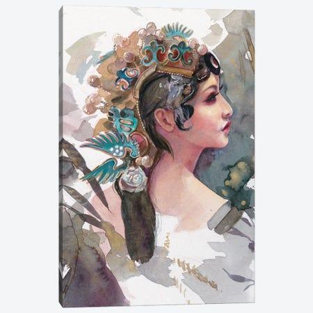 Queen Of Sheba Canvas Print #LIO43} by Lioba Brückner Canvas Print