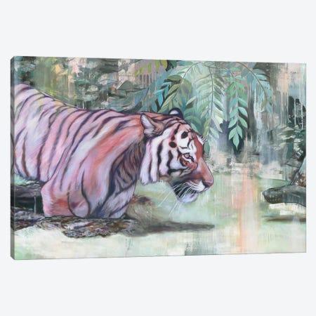 Shere Khan Canvas Print #LIO46} by Lioba Brückner Canvas Art
