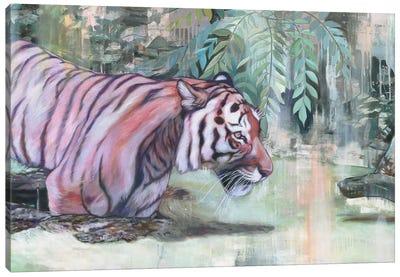 Shere Khan Canvas Art Print