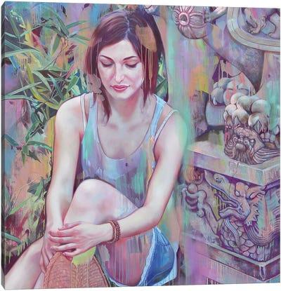 Shi Canvas Art Print
