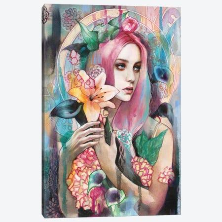 Summer Of Love Canvas Print #LIO52} by Lioba Brückner Canvas Art