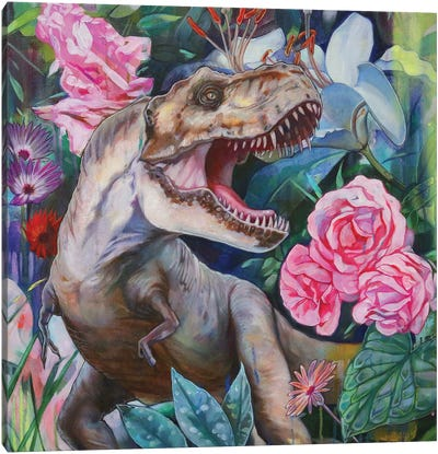 T Rex II Canvas Art Print