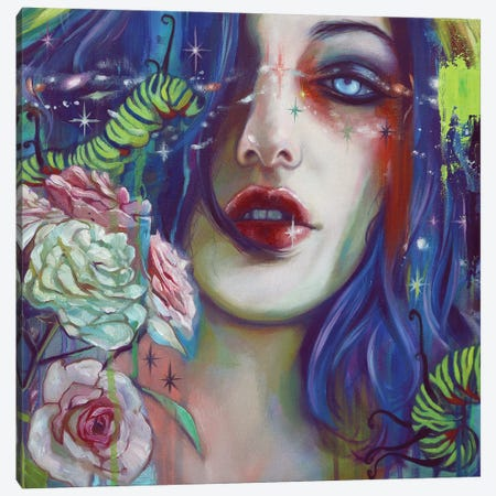 Trust Yourself Print Canvas Print #LIO60} by Lioba Brückner Art Print