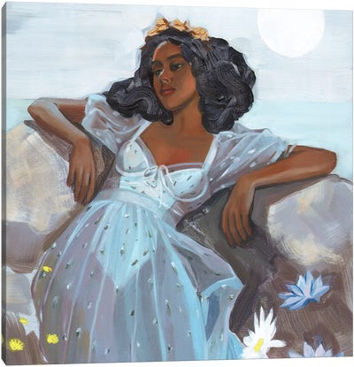 Calypso Canvas Art Print