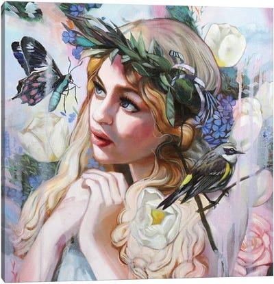 Ostara Painting Canvas Art Print