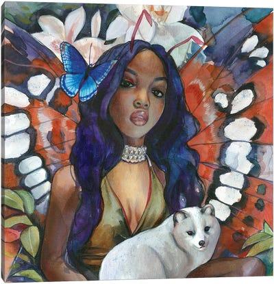 Chouchou Canvas Art Print