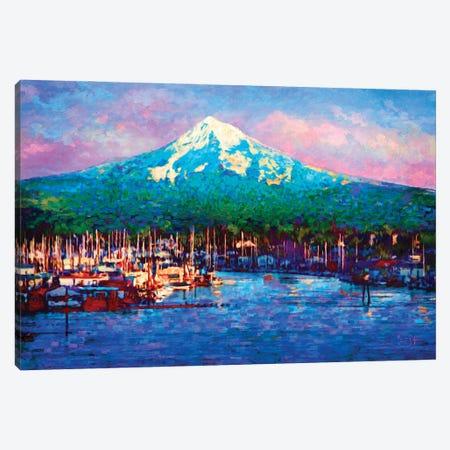 Cascade Glory Canvas Print #LIR13} by Lisa Robinson Canvas Print