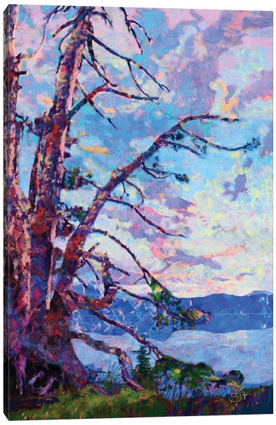 Crater Lake Canvas Art Print