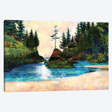 Dead Man's Cove Canvas Print #LIR22} by Lisa Robinson Canvas Artwork