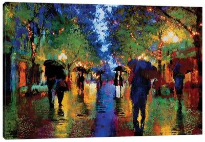 Evening Walk Canvas Art Print