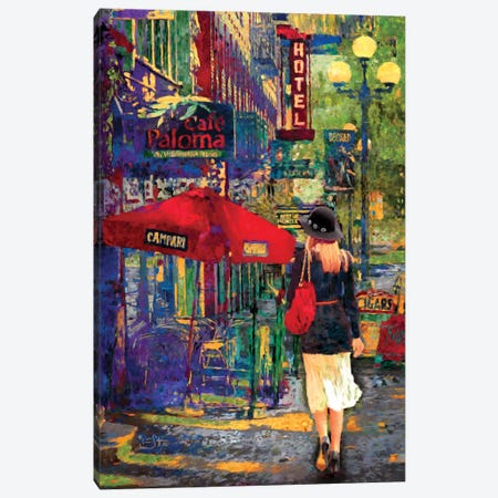 Afternoon Stroll Canvas Print #LIR2} by Lisa Robinson Canvas Art Print