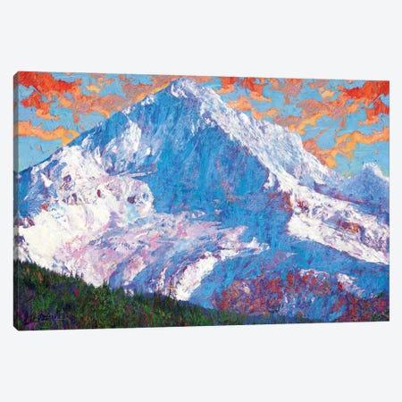 Hood Peak Canvas Print #LIR34} by Lisa Robinson Canvas Artwork