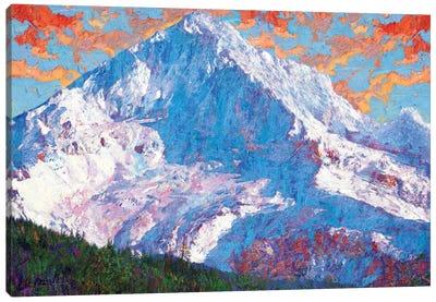 Hood Peak Canvas Art Print