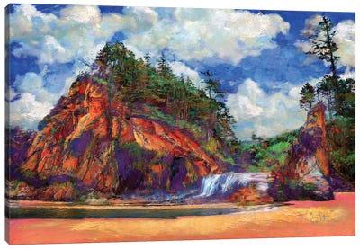 Hug Point Canvas Art Print