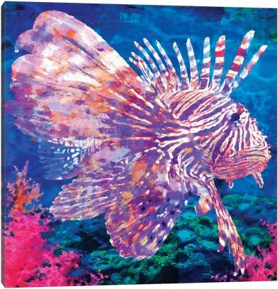 Lion Fish Canvas Art Print