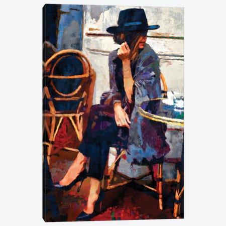 Lunch Date Canvas Print #LIR38} by Lisa Robinson Art Print