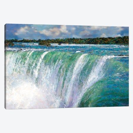 Niagara Falls Canvas Print #LIR45} by Lisa Robinson Canvas Print