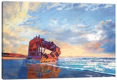 Peter Iredale Canvas Art Print