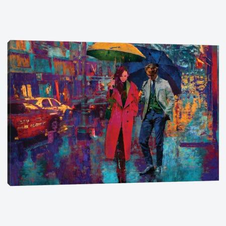 Rain Date Canvas Print #LIR48} by Lisa Robinson Canvas Wall Art