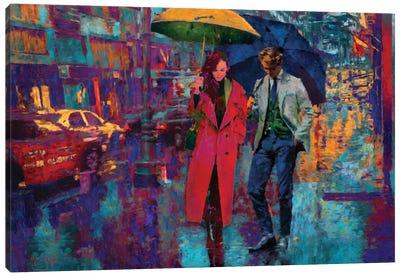 Rain Date Canvas Art Print