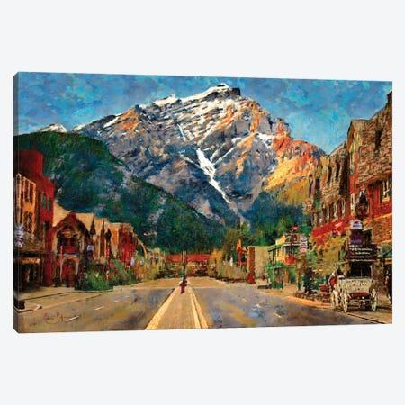 Banff Canvas Print #LIR5} by Lisa Robinson Canvas Art