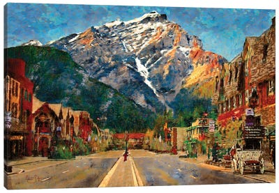 Banff Canvas Art Print