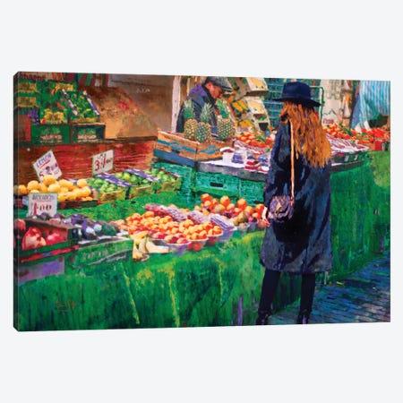 The Market Canvas Print #LIR64} by Lisa Robinson Canvas Art Print