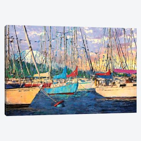 Before the Sail Canvas Print #LIR8} by Lisa Robinson Art Print