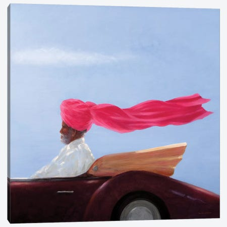 Maharajah At Speed Canvas Print #LIS17} by Lincoln Seligman Canvas Art Print