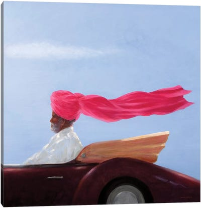 Maharajah At Speed Canvas Art Print