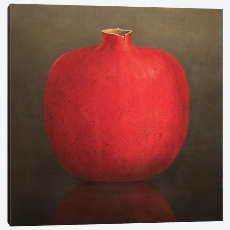 Pomegranate Canvas Print #LIS22} by Lincoln Seligman Art Print