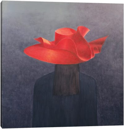 Red Hat Canvas Art Print