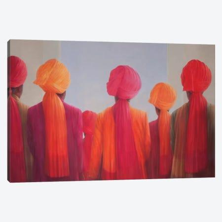 Turban Group Canvas Print #LIS29} by Lincoln Seligman Canvas Print