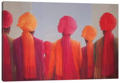 Turban Group Canvas Art Print
