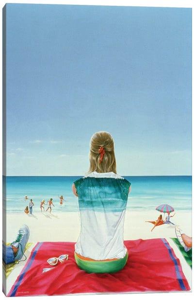 Wrigley Gum Girl II Canvas Art Print