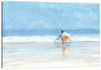 Boy on a Bike 1, 2015  Canvas Art Print
