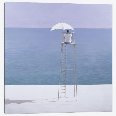 Beach Guard, 2004 Canvas Print #LIS42} by Lincoln Seligman Art Print