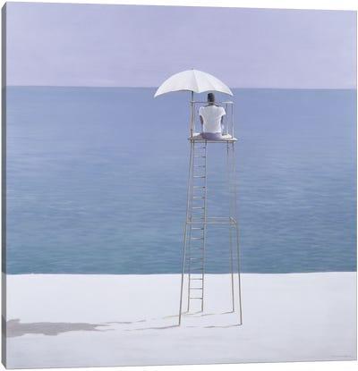 Beach Guard, 2004 Canvas Art Print