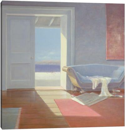 Beach House, 1995 Canvas Art Print