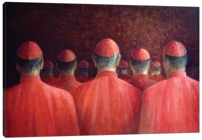 Cardinals, 2005 Canvas Art Print