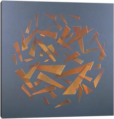 Deconstructed Sphere, 2005 Canvas Art Print