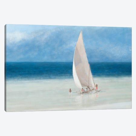 Fishermen, Kilifi, 2012 Canvas Print #LIS51} by Lincoln Seligman Canvas Artwork