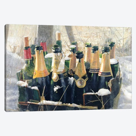 Boxing Day Empties Canvas Print #LIS5} by Lincoln Seligman Canvas Art Print