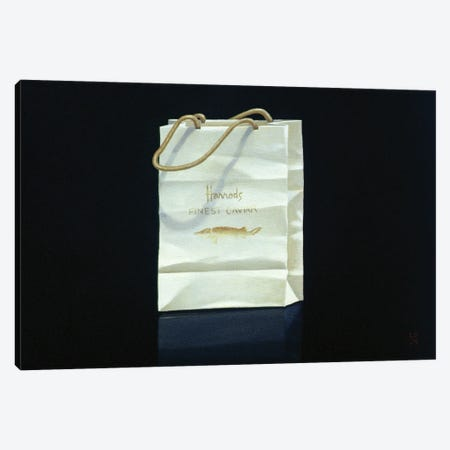 Harrods Caviar Bag, 1989 Canvas Print #LIS60} by Lincoln Seligman Art Print