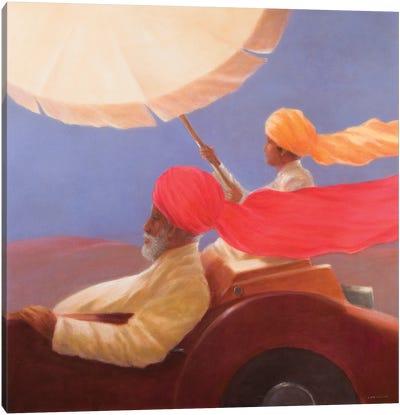 Maharaja At Speed, 2010 Canvas Art Print