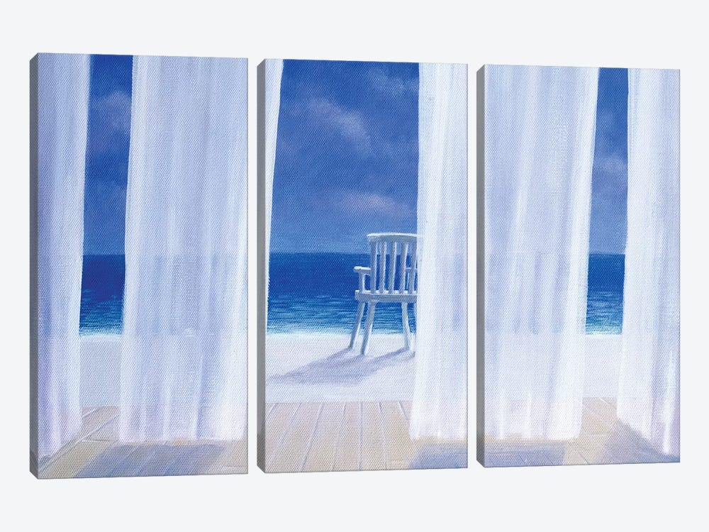 Cabana by Lincoln Seligman 3-piece Canvas Artwork